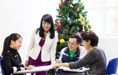 Khai giảng lớp kế toán tổng hợp giỏi L1 We 5