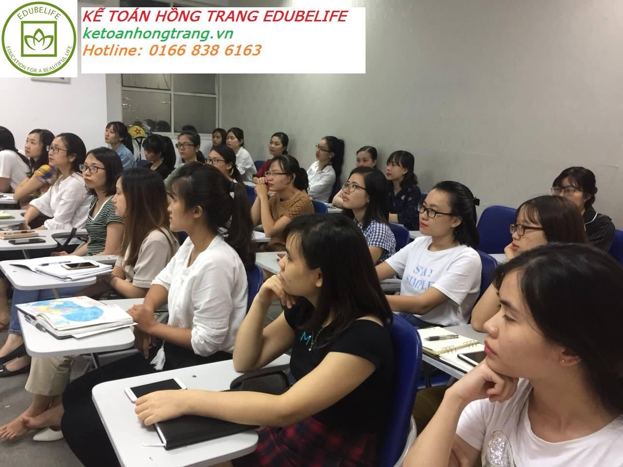 Khai giảng lớp Kế toán tổng hợp giỏi L1K47