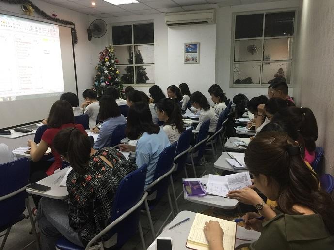 Khai giảng lớp Kế toán tổng hợp giỏi L1K45 và L1We6