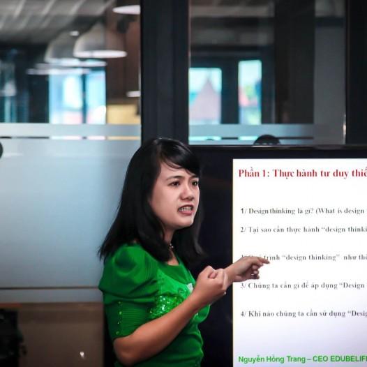 Ms Hồng Trang CEO EDUBELIFE – Người truyền cảm hứng, tri thức cho các Startup du lịch Việt nam VTS 2019
