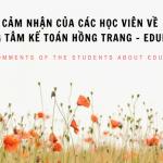 Cảm nhận của học viên kế toán về Edubelife