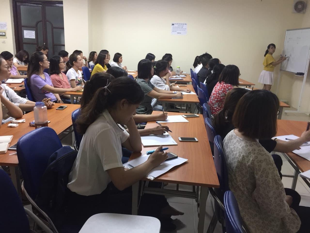Khai giảng lớp Kế toán tổng hợp giỏi L1K46