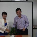 Lễ ký kết MOU giữa Edubelife và SHI