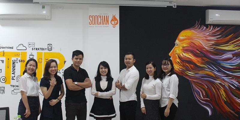 Giảng viên Ms Hồng Trang & Dự án Shipway trong buổi đào tạo về tài chính