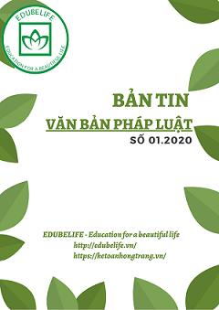 Bản tin văn bản pháp luật 01.2020
