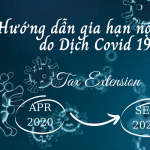 Hướng dẫn gia hạn nộp thuế do dịch Covid 19