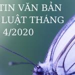 Bản tin văn bản pháp luật tháng 04.2020
