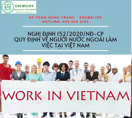 Nghị định mới về người nước ngoài làm việc tại Việt Nam