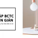 Hỗ trợ hoàn thiện BCTC 2020