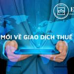 Quy định mới về giao dịch điện tử trong lĩnh vực thuế