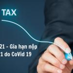 Gia hạn nộp thuế năm 2021 do Covid